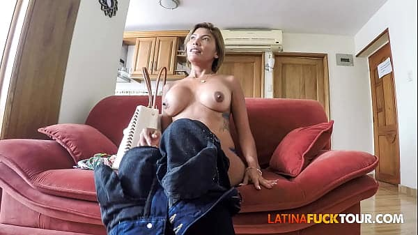 Perfect Colombian Ass Gets Some Big Cock Anal